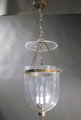 Genuine antique lighting bell jar lantern bell jar lantern aloadofball Image collections