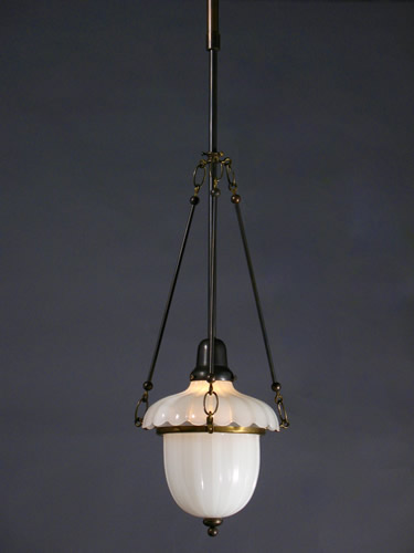 Genuine antique lighting cast glass enclosed pendants cast glass enclosed pendants aloadofball Choice Image